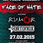 Jubileuszowy koncert Face Of Hate